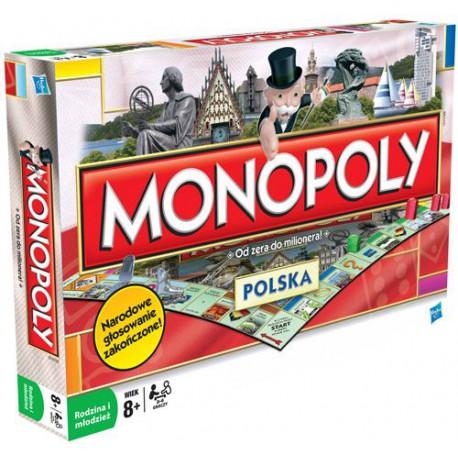 HASBRO - MONOPOLY POLSKA - 01610
