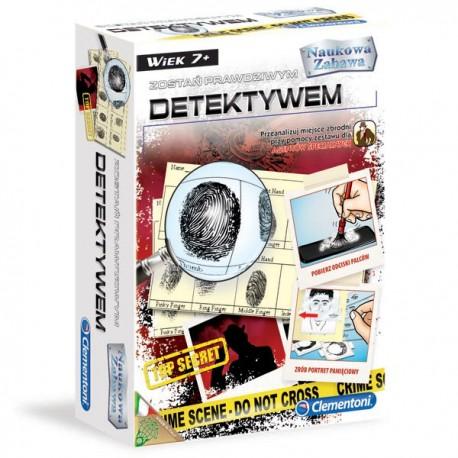 CLEMENTONI - ZOSTAŃ PRAWDZIWYM DETEKTYWEM - 60762