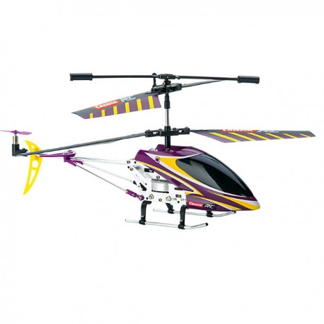 CARRERA RC Helicopter Purple Falcon