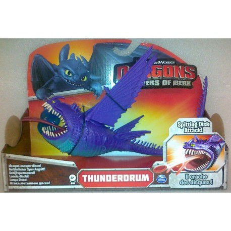 COBI - SPIN MASTER - SMOKI - ACTION DRAGONS - GROMOGRZMOT FIOLETOWY - 64610