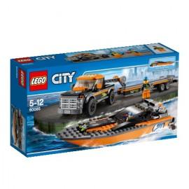 LEGO - CITY - TERENÓWKA Z MOTORÓWKĄ - 60085
