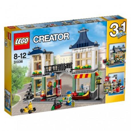 LEGO - CREATOR - SKLEP Z ZABAWKAMI I OWOCAMI - 31036