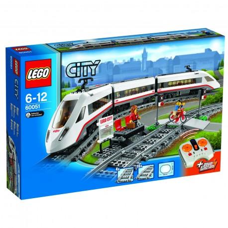 LEGO - CITY - SUPERSZYBKI POCIĄG PASAŻERSKI - 60051
