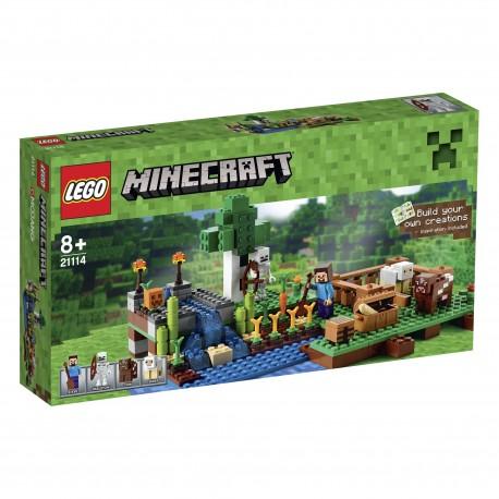 LEGO - MINECRAFT - FARMA - 21114