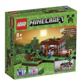 LEGO® - MINECRAFT™ - PIERWSZA NOC - 21115
