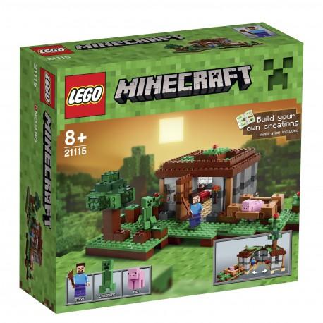 LEGO - MINECRAFT - PIERWSZA NOC - 21115
