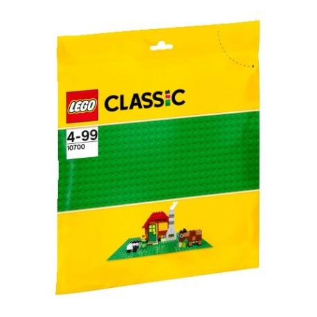 LEGO - CLASSIC - ZIELONA PŁYTKA KONSTRUKCYJNA - 10700