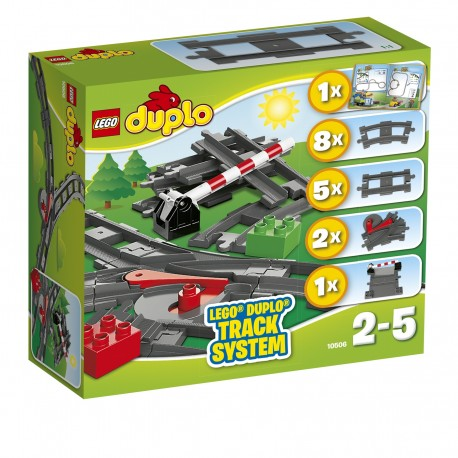 LEGO - DUPLO - TORY KOLEJOWE - 10506