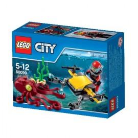 LEGO - CITY - SKUTER GŁĘBINOWY - 60090