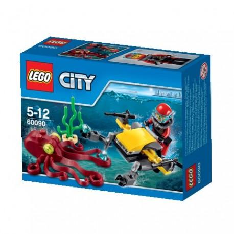 LEGO - SKUTER GŁĘBINOWY - 60090