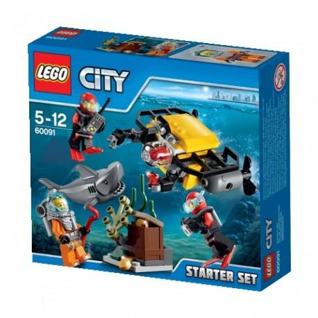 LEGO - MORSKIE GŁĘBINY - ZESTAW STARTOWY - 60091