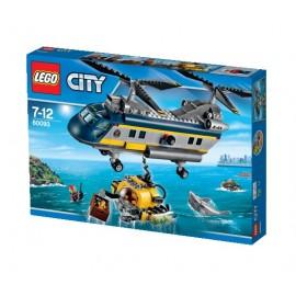 LEGO - CITY - HELIKOPTER BADAWCZY - 60093
