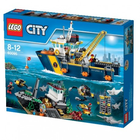 Lego City Statek Do Badań Głębinowych 60095 Królestwo Dzieci