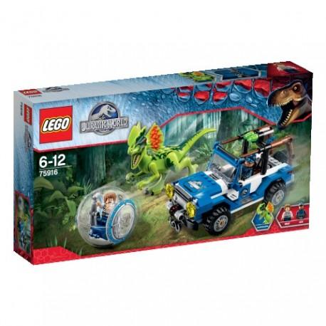 LEGO - JURASSIC PARK - ZASADZKA DILOFOZAURA - 75916