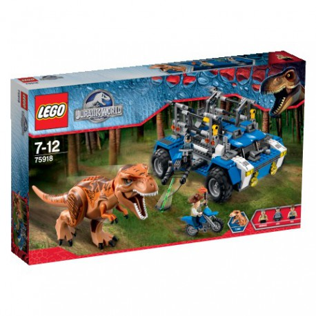 LEGO - JURASSIC PARK - TROPICIEL TYRANOZAURA - 75918