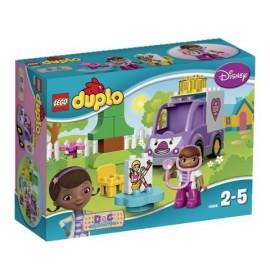 LEGO® - DUPLO® - KLINIKA DLA PLUSZAKÓW - KARETKA DOKTOR DOSI - 10605