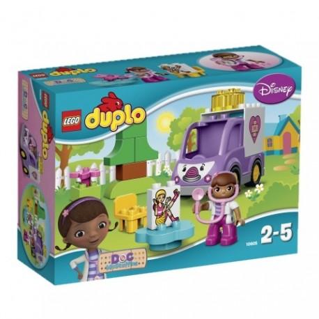 LEGO DUPLO - KLINIKA DLA PLUSZAKÓW - 10605