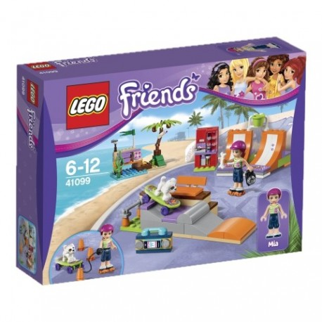 LEGO - FRIENDS - SKATEPARK W HEARTLAKE - 41099
