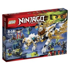 LEGO - NINJAGO - SMOK MISTRZA WU - 70734