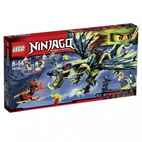 LEGO- NINJAGO - ATAK SMOKA MORO - 70736