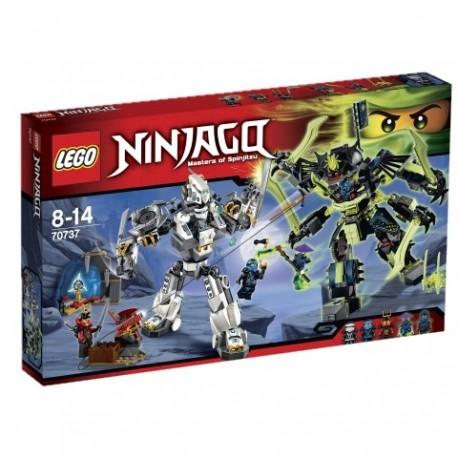 LEGO - NINJAGO - STARCIE TYTANÓW MECH - 70737