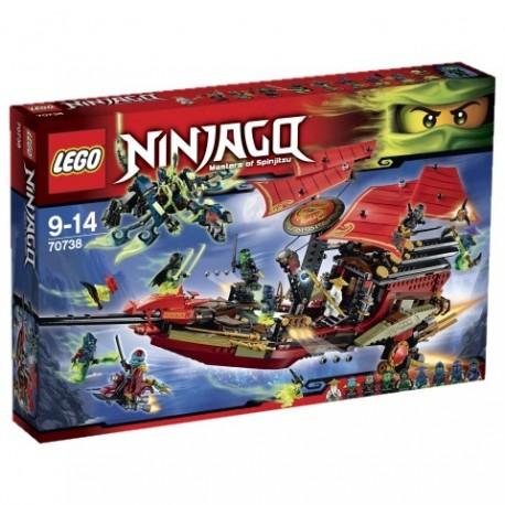 LEGO - NINJAGO - OSTATNI LOT PERŁY PRZEZNACZENIA - 70738