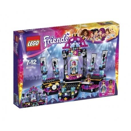 LEGO - FRIENDS - SCENA GWIAZDY POP - 41105 new