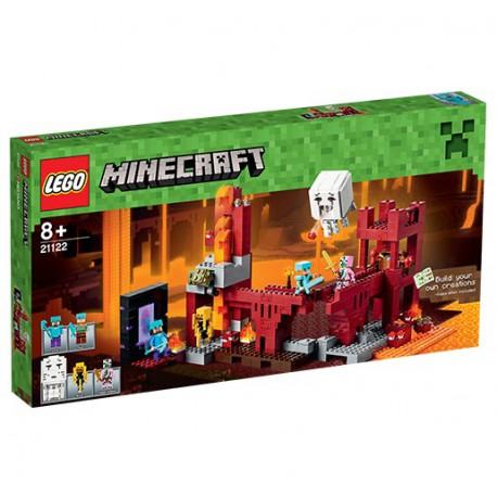 LEGO - MINECRAFT - FORTECA NETHERU - 21122