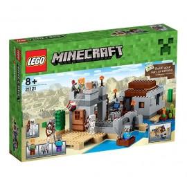 LEGO - MINECRAFT - PUSTYNNY POSTERUNEK - 21121