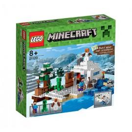 LEGO - MINECRAFT - ŚNIEŻNA KRYJÓWKA - 21120