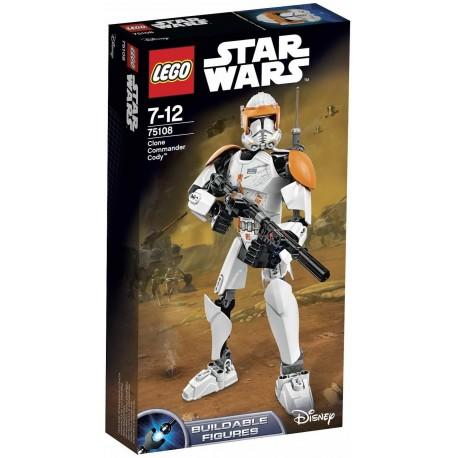 LEGO - STAR WARS - DOWÓDCA KLONÓW CODY - 75108
