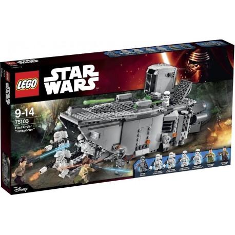 LEGO - STAR WARS - FIRST ORDER TRANSPORTER - 75103