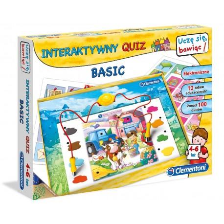 CLEMENTONI - INTERAKTYWNY QUIZ BASIC - 60062