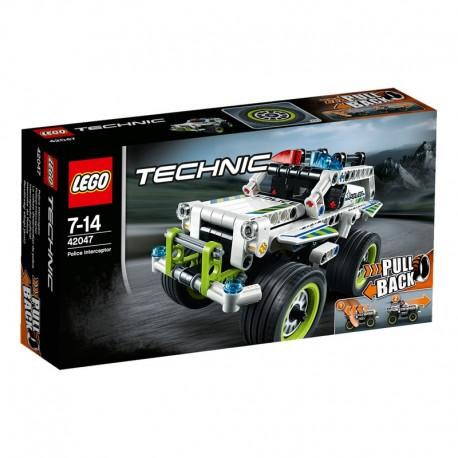 LEGO - TECHNIC - RADIOWÓZ POŚCIGOWY - 42047