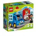 LEGO - DUPLO - PATROL POLICYJNY - 10809