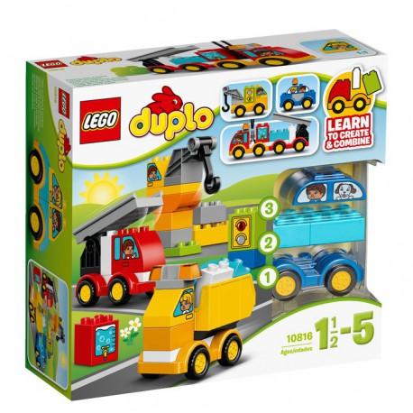 LEGO - DUPLO - MOJE PIERWSZE POJAZDY - 10816