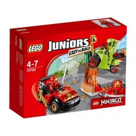 LEGO - JUNIORS - STARCIE Z WĘŻEM - 10722