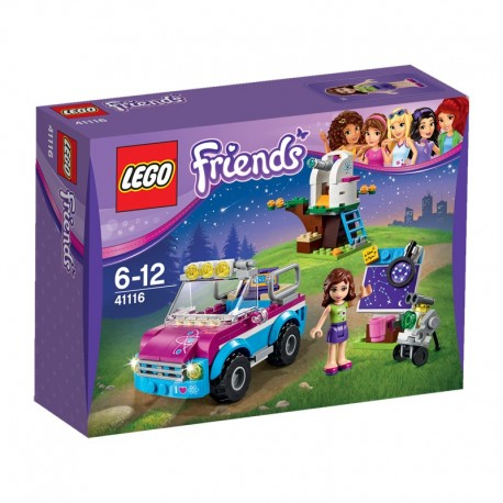 LEGO - FRIENDS - WÓZ BADAWCZY OLIVII - 41116
