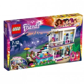 LEGO - FRIENDS - DOM GWIAZDY POP LIVI - 41135