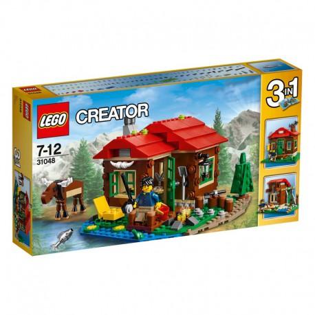 LEGO - CREATOR - CHATKA NAD JEZIOREM - 31048
