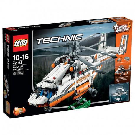 LEGO - TECHNIC - ŚMIGŁOWIEC TOWAROWY - 42052