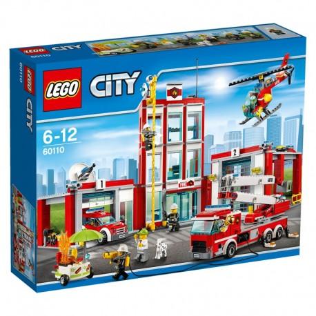 LEGO - CITY FIRE - REMIZA STRAŻACKA - 60110