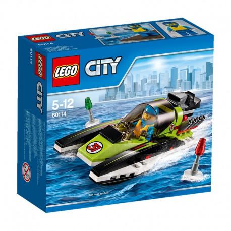 LEGO - CITY GREAT VEHICLES - ŁÓDŹ WYŚCIGOWA - 60114