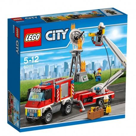 LEGO - CITY FIRE - STRAŻACKI WÓZ TECHNICZNY - 60111