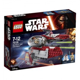 LEGO - STAR WARS - JEDI INTERCEPTOR - OBI-WAN - 75135