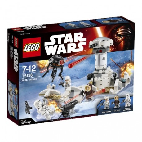 LEGO - STAR WARS - ATAK HOTH - 75138