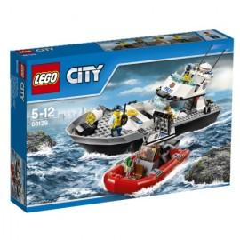 LEGO® - CITY - POLICYJNA ŁÓDŹ PATROLOWA - 60129