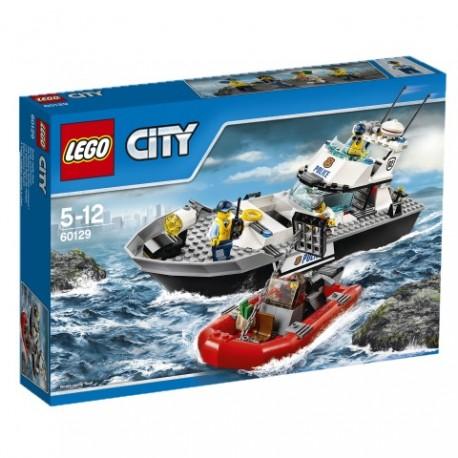 LEGO - CITY POLICE - POLICYJNA ŁÓDŹ PATROLOWA - 60129