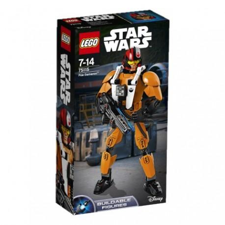 LEGO - STAR WARS CONSTRACTION - POE DAMERON - 75115