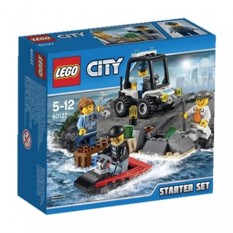 LEGO - CITY POLICE - WIĘZIENNA WYSPA - ZESTAW STARTOWY - 60127